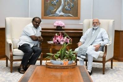 Kumarswamy With Modi20190530123946_l